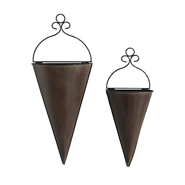 Cheungs 2 Piece Wall Vase Set