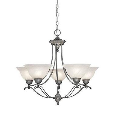 Designers Fountain Palladium 5-Light Shaded Chandelier