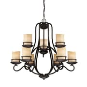 Designers Fountain Lauderhill 9-Light Candle-Style Chandelier