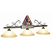 RAM Game Room 3-Light Rack Billiard Light