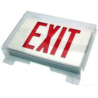 Morris Products Vandal / Environmental Shield Guard for Exit Light