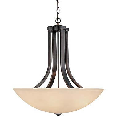 Dolan Designs Fireside 4-Light Inverted Pendant; Bolivian