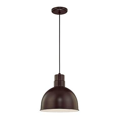 Millennium Lighting R Series 1-Light Kitchen Pendant; Architectural Bronze