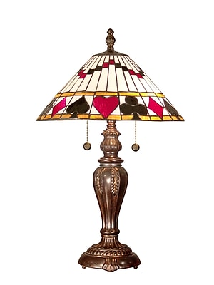 Dale Tiffany Royal Flush 27'' Table Lamp