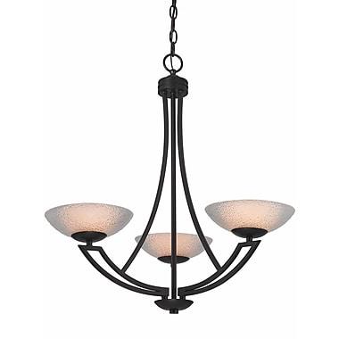 Dolan Designs Delany 3-Light Shaded Chandelier