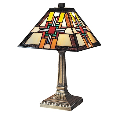 Dale Tiffany Morning Star 15'' Table Lamp