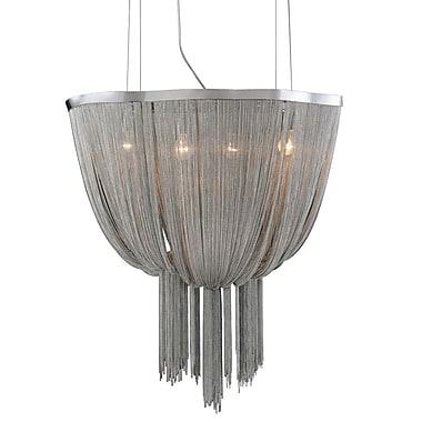 PLC Lighting Formae 4-Light Crystal Chandelier