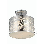 Elegant Lighting Prism 2 Light Flush Mount