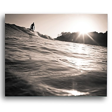 KindredSolCollective 'Flow' by Ed Fladung Photographic Print on Wrapped Canvas; 24'' H x 36'' W