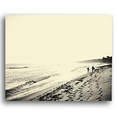 KindredSolCollective 'The Walk' by Ed Fladung Photographic Print on Wrapped Canvas; 24'' H x 36'' W