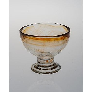 Abigails Stonege Dessert Cup; Tangerine