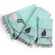 Popular Bath Products Avantie 3 Piece Towel Set; Aqua