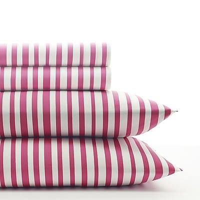 Agatha Ruiz de la Prada Cutie Tulips 150 Thread Count 100pct Cotton Sheet Set; Full