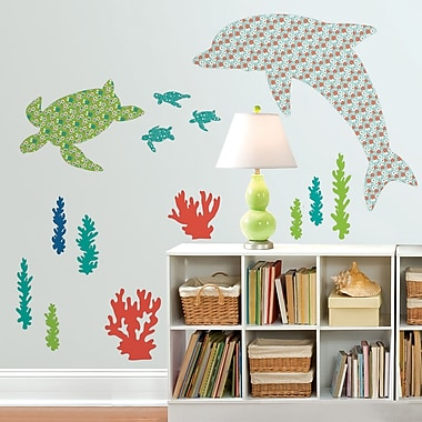 WallPops! Daphne The Dolphin Wall Decal