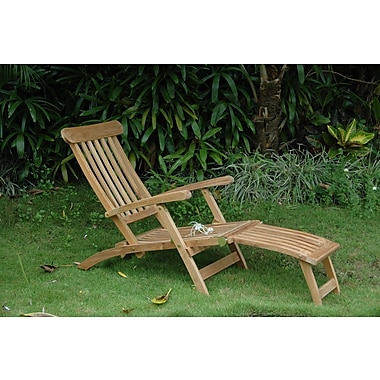 Anderson Teak Royal Steamer Lounge Chair