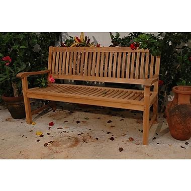 Anderson Teak Del-Amo Teak Garden Bench; 60'' W