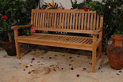 Anderson Teak Del-Amo Teak Garden Bench; 71'' W