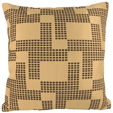 Universal Home Fashions Holland Chenille Throw Pillow; Gray