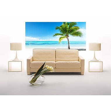 WallPops! Home Decor Line Palms and Sea Wall Mural
