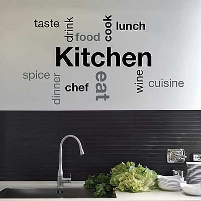 WallPops! Home Decor Line Kitchen Quote Wall Decal