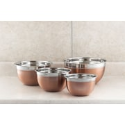 Cook Pro 4 Piece Stainless Steel Mixing Bowl Set