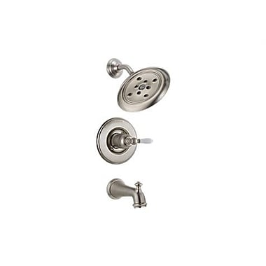 Delta Victorian Tub and Shower Faucet Trim; Brilliance Stainless