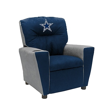 Imperial NFL Kids Recliner w/ Cup Holder; Dallas Cowboys