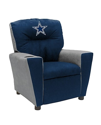 Imperial International NFL Kids Recliner w/ Cup Holder; Dallas Cowboys