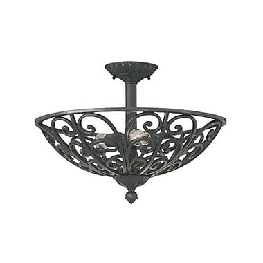 Designers Fountain Toledo Semi Flush Mount