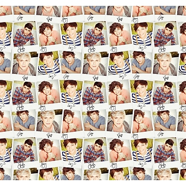 WallPops! One Direction Collage 8.3' x 106.3'' Wall Mural