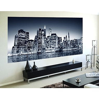 WallPops! Home Decor Line Night View Wall Mural