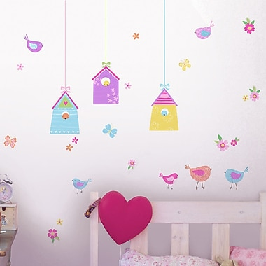 WallPops! Fun4Walls Bird Houses Wall Decal