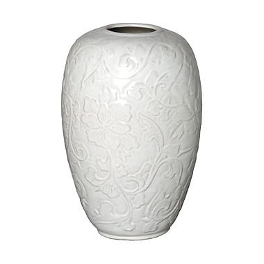 Emissary Botanical Relief Vase