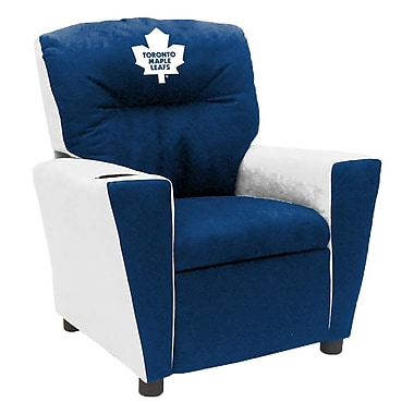 Imperial NHL Kids Recliner w/ Cup Holder; Toronto Maple Leafs