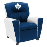 Imperial International NHL Kids Recliner w/ Cup Holder; Toronto Maple Leafs