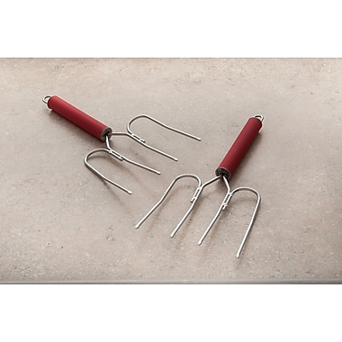 Cook Pro Stainless Steel Turkey Lifter (Set of 2)