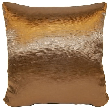 Universal Home Fashions Domino Throw Pillow; Bronze