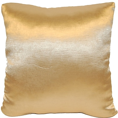 Universal Home Fashions Domino Throw Pillow; Gold