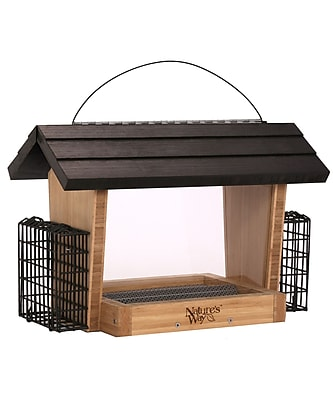 Nature's Way 6-Qt Suet Bird Feeder (WYF078277572857) photo