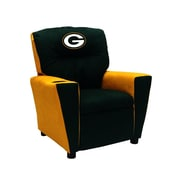 Imperial NFL Kids Recliner w/ Cup Holder; Green Bay Packers