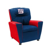 Imperial NFL Kids Recliner w/ Cup Holder; New York Giants