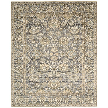 Nourison Timeless Opalescent Gray Area Rug; 9'9'' x 13'