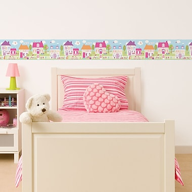 WallPops! Fun4Walls Happy Street Wall Mural
