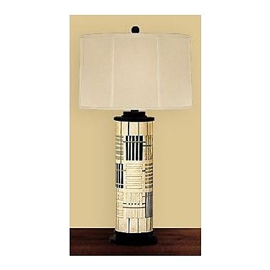 JB Hirsch Holmes Abstract Column Table Lamp