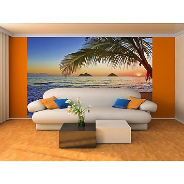 WallPops! Ideal Decor Pacific Sunrise 12' x 100'' Wall Mural