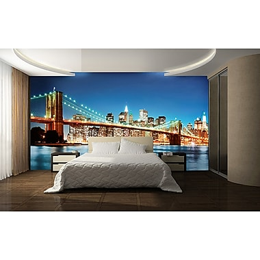 WallPops! Ideal Decor New York East River 12' x 100'' Wall Mural
