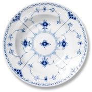 Royal Copenhagen Blue Fluted Half Lace Soup Bowl
