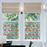 WallPops! DC Fix Stained Glass Window Film