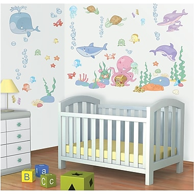 WallPops! Baby Under The Sea Wall Decal