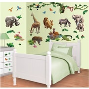 WallPops! Jungle Adventure Wall Decal